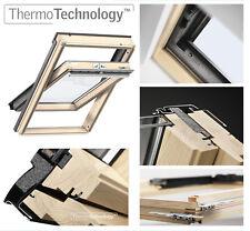 Dachfenster VELUX FK04 Schwingfenster aus Holz Uw=1,3 Holz incl. Eindeckrahmen
