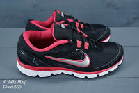 VGC! Nike Dual Fusion ST Womens MISMATE Size 9 LEFT 10 RIGHT Black/Pink/Silver