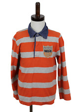 TIMBERLAND Striped Polo Jumper size 8/126