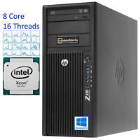 8-Core HP Z420 Workstation E5-2680 3,5GHz, 256GB SSD, 32GB ram, Gráfica i7