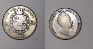 1852 SWEDEN SILVER 8 R #454-6