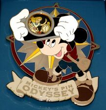 LE JUMBO Disney Pin✿Mickey Odyssey Camera Mr Toad Tink Alice Wonderland Ghosts