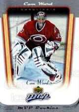 2005-06 Upper Deck MVP #408 Cam Ward