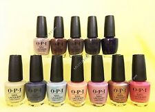Opi Nail Lacquer *Iceland Collection 2017* 12 Shades Set Brand New Free Ship!