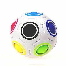 Magic Cube Rainbow Ball Toy Twist Spinner Puzzle Adult Stress Reliever