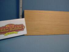 Miniature Old Fashion Bead Walnut Board 1//12th Scale 1//8 Spacing