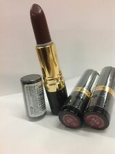 LOT OF 3 - Revlon Super Lustrous Lipstick Shine FOXY LADY #855 NEW AND SEALED.