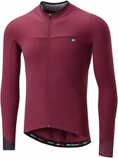 Madison Road Race Light Long Sleeve Mens Cycling Jersey - Red