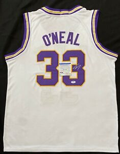 Shaq Shaquille O'Neal Signed LSU Jersey PSA 9A24369