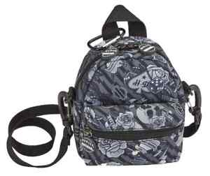 Harley-Davidson Gray Tattoo Mini-Me Small Backpack, Gray 99668-GRAY TATTOO