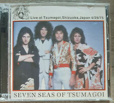 Queen ‎– Seven Seas Of Tsumagoi Live 1975 Rare 2 cd from Japan Freddie Mercury
