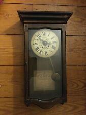 Vintage New England Clock Co Wall Clock Battery