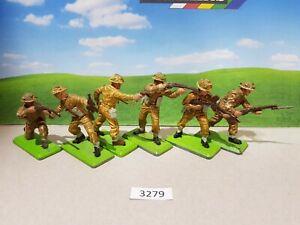 Britains Deetail WW2 British Infantry set of 6 (lot 3279)