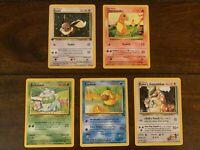 1ST EDITION POKEMON CARD BUNDLE 🥇 Pokémon Original Sets WOTC Era