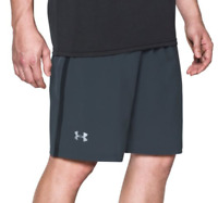 Under Armour Men's 9'' Launch Running Shorts Stealth Gray *NWT*