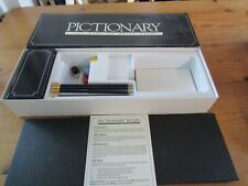 Pictionary - The Game Of Quick Draw Board Game - Vintage 1987 Parker complete