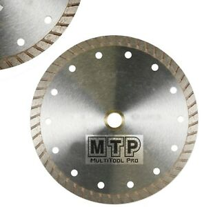 "10"" Inch Diamond Turbo Premium Saw Blade Granite  Concrete Tile Stone, 5/8""-7/8"""