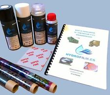Kit de inicio completo water transfer printing hidroimpresion hydrographic film