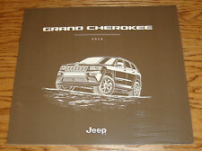 Original 2016 Jeep Grand Cherokee Deluxe Sales Brochure 16 SRT Laredo Overland