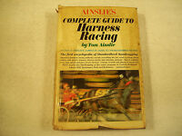 Ainslie's Complete Guide to Harness Racing Tom Ainslie Illustrated GC 166N