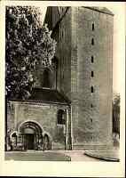 Kirchen Motiv-Postkarte Stiftskirche Kirche in Königslutter ungelaufen ~1950/60