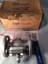 "itt grinnell valve # 150 top entry ball valves 1R 1822 flanged 1"" in 1-3011-1-3"