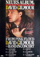 GILMOUR, DAVID - PINK FLOYD - 1984 - Tourplakat - About Face - Tourposter