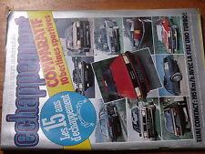 $$v Revue Echappement N°182 Fiat Uno Turbo  Alfa Romeo Guilietta 2.0  BMW 318i