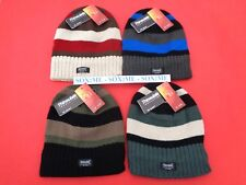 MENS BEANIE HATS THERMAL INSULATION THINSULATE WALKING DRIVING BUILDERS WORK F/P