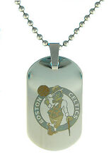 Boston Celtics NBA Dog Tag Necklace