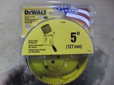 "Dewalt 5"" Bi-Metal Holesaw # D180080 Made In USA"