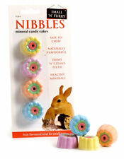NIBBLES Small N Furry Mineral Candy Cakes Rabbits Hamster Guinea Pig Chews