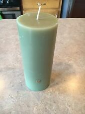 """Partylite Bamboo Mist Pillar Candle 3"""" x 7"""" NEW no box"""