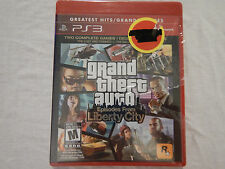 NEW Grand Theft Auto: Episodes from Liberty City Sony PS3 (Greatest Hits)