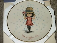 Fran Mar MOPPETS Mother's Day 1974 Gorham Porcelain Collector Plate MIB
