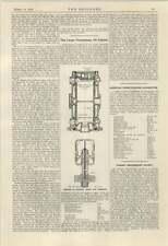 1924 Lentz Hydraulic Transmission Gear For Omnibuses Large Nuremburg Oil Engine