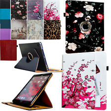 For 2019 iPad 10.2 7th Generation 360 Rotating Smart Case Cover Stand W/ Pocket