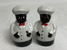 Black Americana Chef - Salt & Pepper Shakers