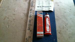 GASOILA Gas Pump sealing compound antique vintage old Cleveland