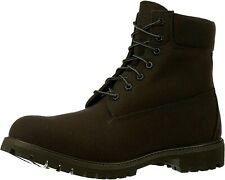 Timberland Men's 6 Inch Boots TB0A1OYN Fabric Black NEW IN BOX 6' Timbs