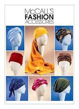 Mccalls sewing pattern 4116 turbans, bandeau, Chapeaux