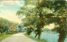 Wichita, KS Riverside Drive in Riverside Park 1914