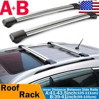 FIAT SEDICI 06-11 Heavy Duty Anti-Theft Steel Roof Rack Cross Rail Bars