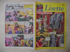 LISETTE n° 48 / 28 novembre  1954. Zette Reporter au pays du mystère.