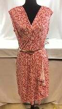 ANNE KLEIN Womens  Floral  Printed Ruffled Wrap Dress XL.