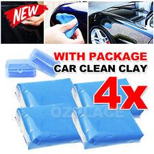 Premium Magic Car Truck Auto Vehicle Clean Clay Bar Detailing Wash Cleaner 4pcs