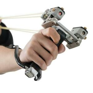 High Velocity Folding Wrist Sling Shot Brace Hunting Catapult outdoor Slingshot