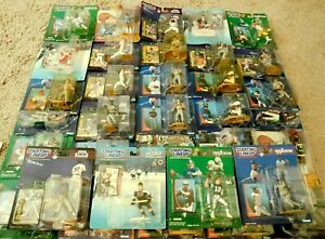 NEVER SEEN BEFORE !!  LOT OF (34) KENNER STARTING LINEUP-ALL SPORTS-STARS !!  DB