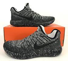 Nike Women's Lunarepic Low Flyknit 2 Running Shoes Black White 863780-041 Size 8