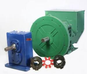 Generator Alternator Head LTP 8.8KW 1Phase 2Bearing 120/240 Volts Industrial